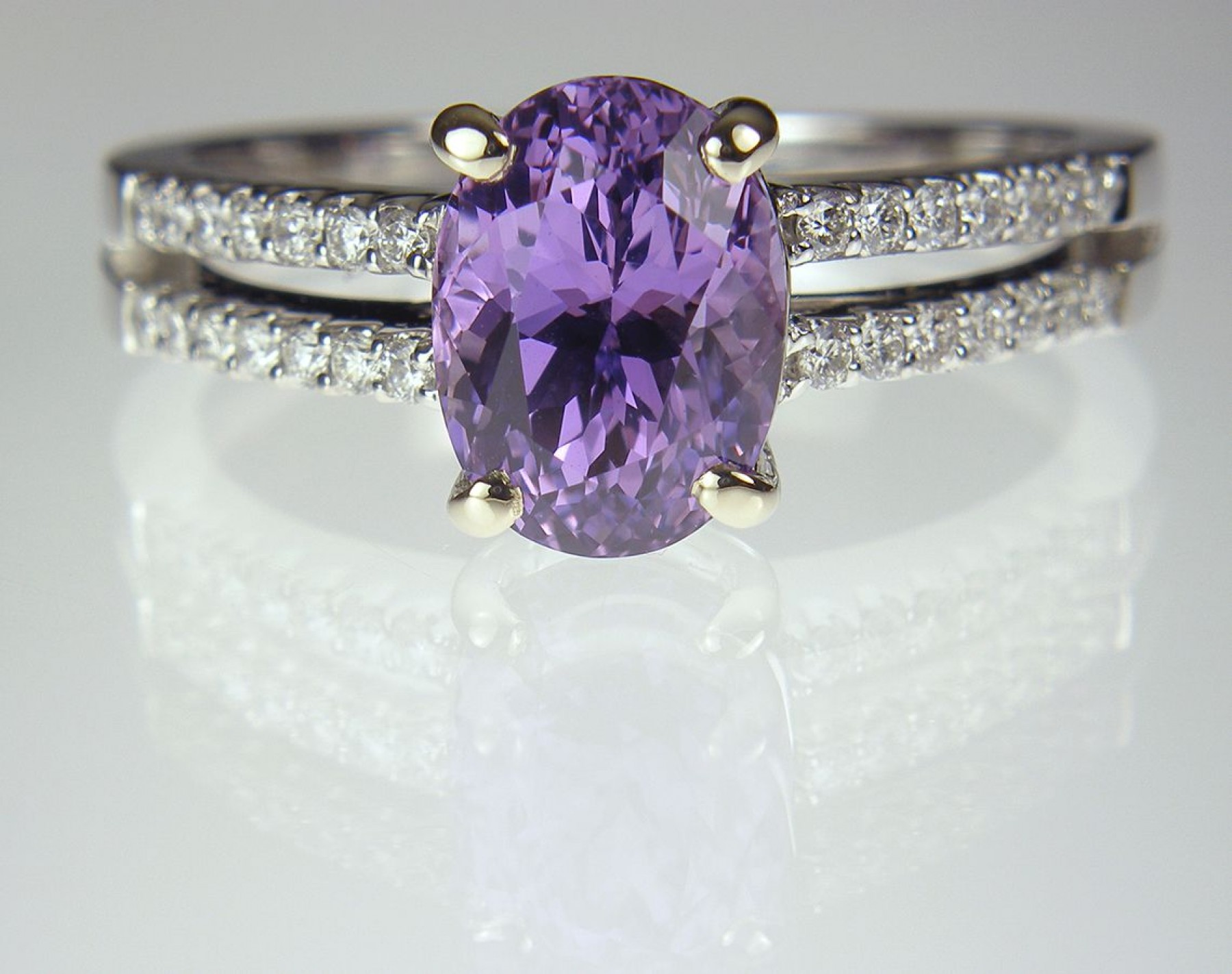 shop haruni purple ct gems oval lilac image sapphire featured fancy fine