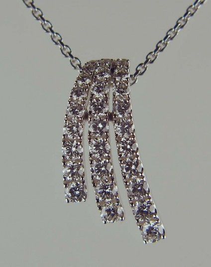 Diamond pendant -